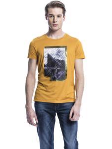 诺奇男士印花T恤