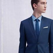 沙驰男装2017新品 男人衣柜里的蓝色梦想