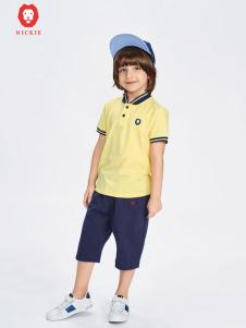 NICKIE童装黄色T恤