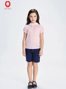 NICKIE粉色时尚上衣新款