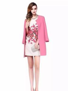 施华布朗2017春夏新品粉色外套