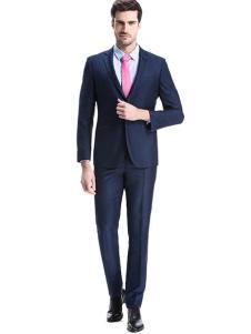 圣得西男装春夏新品蓝色西服