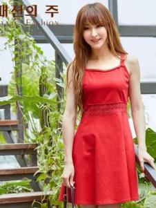 尚州2017春夏新品吊带裙