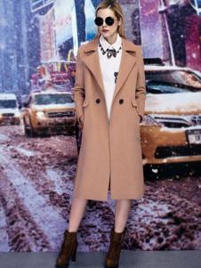 FC时尚主播女装长款外套