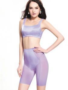 SWEAR思薇尔紫色抹胸式内衣
