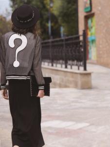 迪笛欧女装在2017年春夏新款黑色长裙