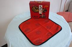 五福临门坐垫:大气的到会礼品专用坐垫