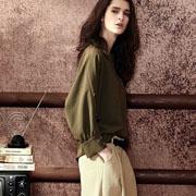 SOULCELL苏昔女装2017新品 绿色很流行
