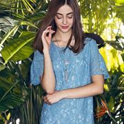 TAHAN太和2017春装新品 你还缺一条美美哒蕾丝裙
