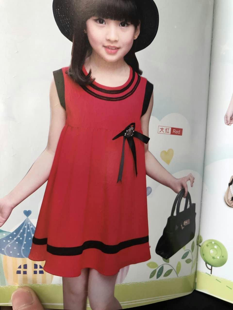 半橡皮童装 品牌折扣店货源 女童连衣裙批发走份 厂家直销 一手货源