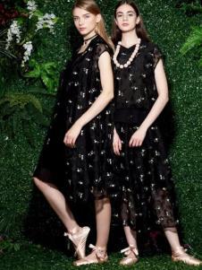 sofeya女装2017春夏新品雪纺裙