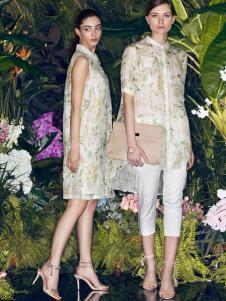 太和女装2017春夏新品印花衬衫