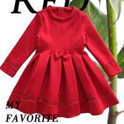 POIPOILU童装:每个女孩都值得拥有一件完美的红裙子!