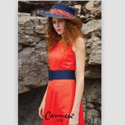 春暖花开,Carmen女装带你变成春夏之交最美的牡丹花