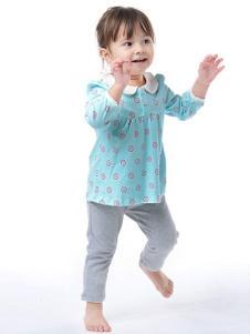 童泰婴童装蓝色上衣