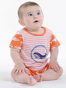 童泰婴童装条纹套装