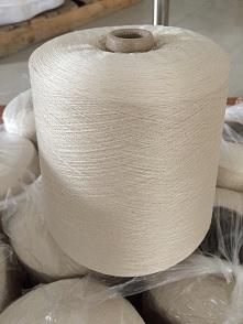 60nm/2本白绢丝纱线