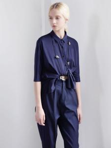 迪斯廷凯蓝色时尚上衣