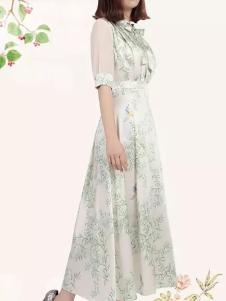VIOIA薇欧拉2017春季新品长裙