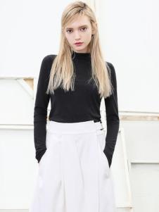 VIEWEVER维伊2017春夏新品黑色上衣