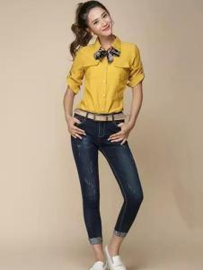 唯美印象新品牛仔裤