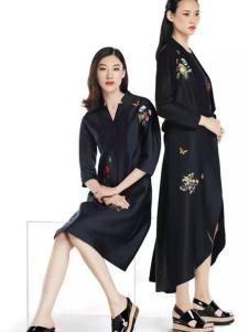 WSFM五色风马2017新品连衣裙