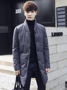 阔佬▪史迪文男装灰色羽绒服