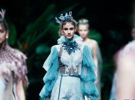 绝设·余爱平时装秀在中国国际时装周上惊艳开场