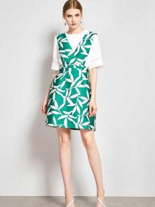 ZIMMUR17春夏新款两件套裙子