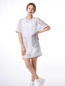 夏柏女装短袖连衣裙