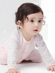 minimoto小米米2017春夏新品开襟婴儿服