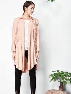 水墨生香春季新款纯色外套