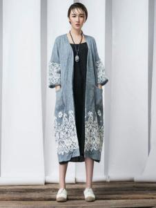 YAMISS娅玛诗女装棉麻外套