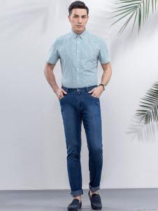 雅戈尔男装翻领衬衫