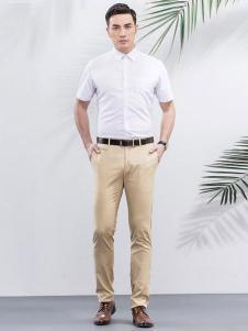 雅戈尔男装商务休闲白衬衫