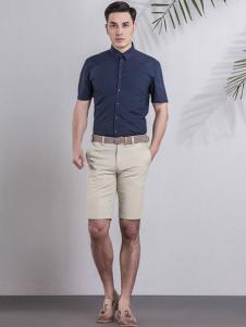 雅戈尔男装短袖衬衫
