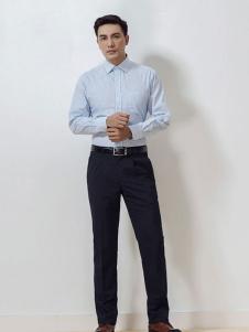 雅戈尔男装纯色衬衫