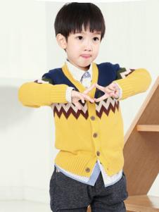 YEESHOW一休童装男童针织开衫