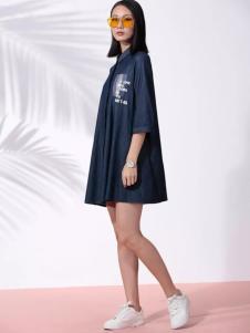 THAT'S ALL女装2017春夏新品廓形衬衫