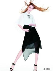 伊莎贝尔·阿珈尼女装白衬衫