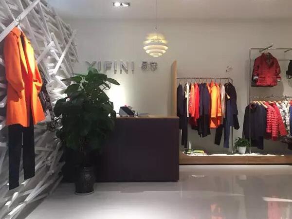 YIFINI易菲时尚女装品牌店品牌旗舰店店面