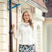 这个夏天流行印花裙简约风 格蕾斯夏季女装新品预览