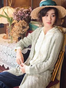 茵曼2017春夏新品针织外衫