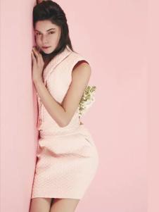 YIGUE亦谷2017春夏新品无袖包臀裙