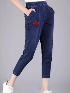 尹红女装显瘦小腿裤