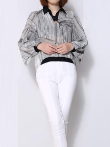 IVENI依维妮2017春夏新品衬衫