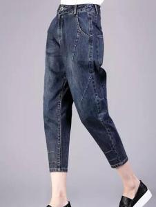 尹红女装牛仔裤