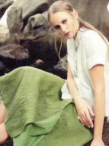 衬茉17夏季时尚新款文艺套装
