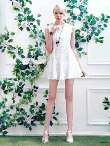 衬茉17夏季时尚新款时尚连衣裙