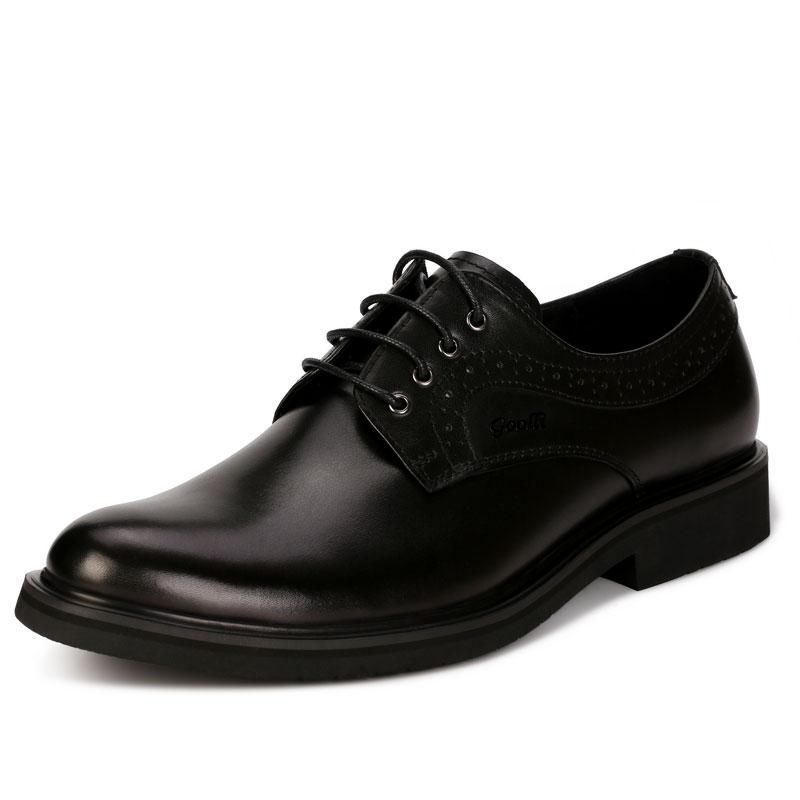 鞋跟磨损选固宜,固宜不磨损正装皮鞋